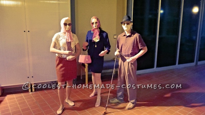 Awesome Group Costume Idea: Mannequin Shenanigans