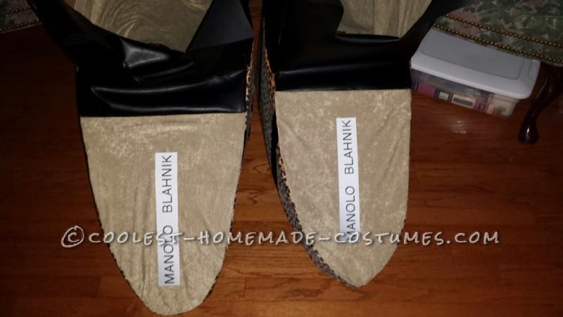 Fashionable Couple Costume: Manolo Blahnik Shoes