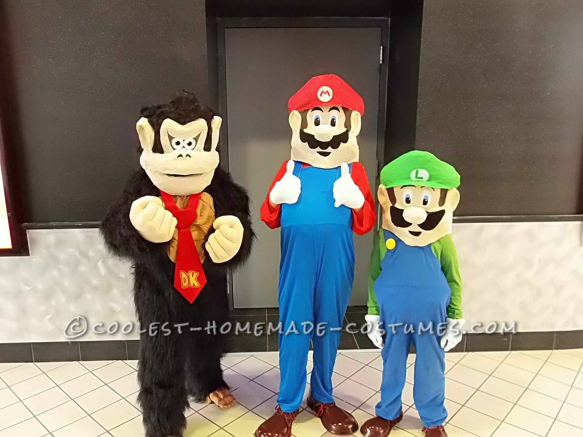 Mario, Luigi, and Donkey Kong Costumes for Kids