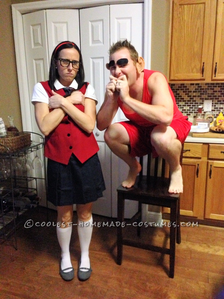 Mary Katherine Gallagher and Mr. Peepers Couple Costume from SNL