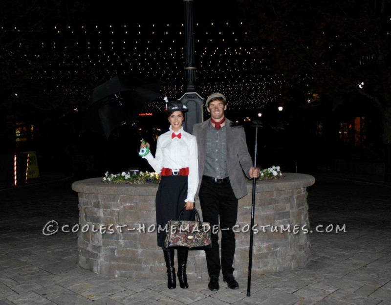 Cool Mary Poppins and Bert Couple Costume: My main reason behind my costumes this year is my love for Disney....
