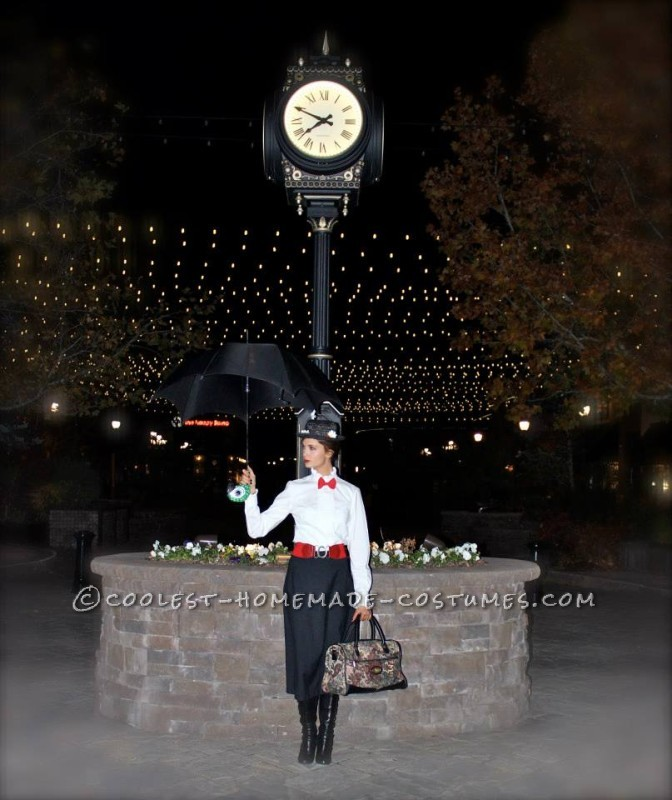 Cool Mary Poppins and Bert Couple Costume: My main reason behind my costumes this year is my love for Disney....  I have always had a love for Mary Poppins and I've been told I look like her