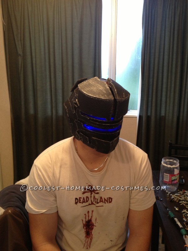 Mass Dead Space Effect Costume – All Homemade! - 8