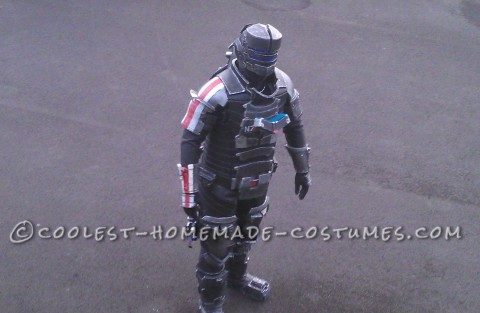 Mass Dead Space Effect Costume - All Homemade!