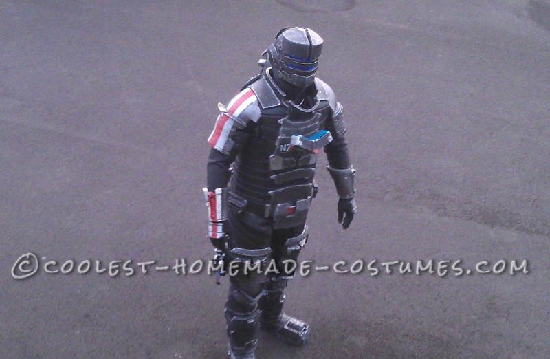 Dead Space N7 Armor Completed Front