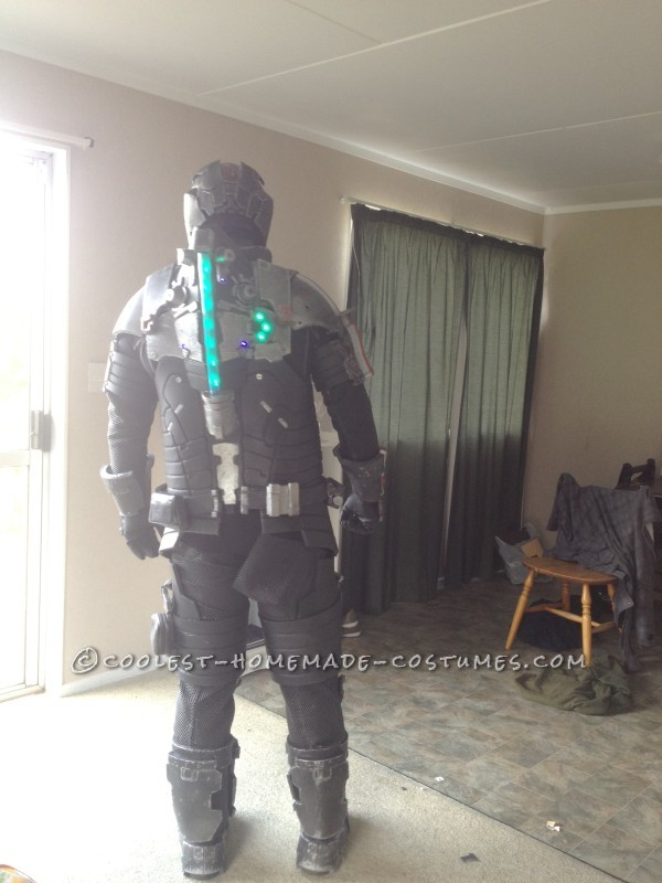 Mass Dead Space Effect Costume - All Homemade!
