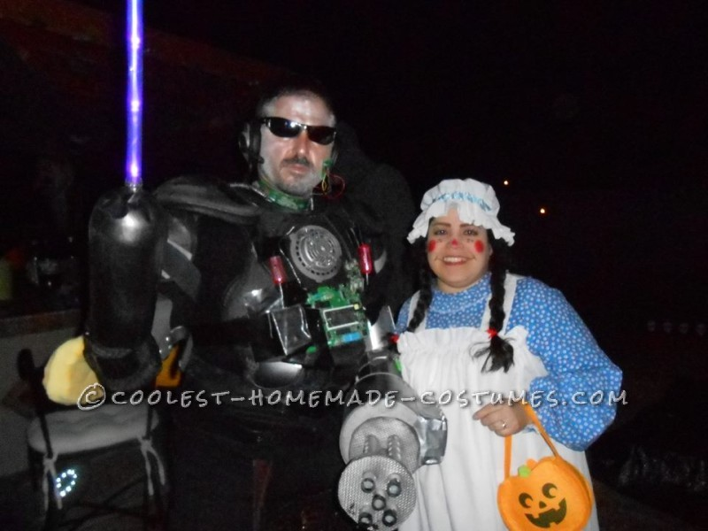 Cool DIY Cyborg Costume - 2