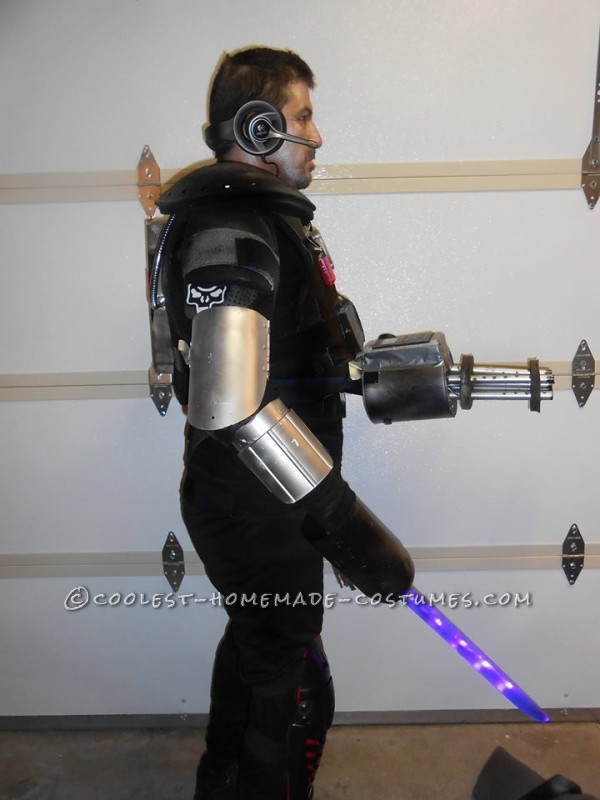 Cool DIY Cyborg Costume
