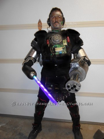 Cool DIY Cyborg Costume