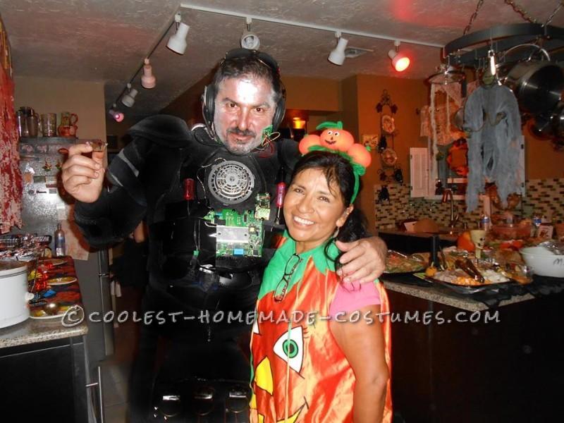 Cool DIY Cyborg Costume - 3