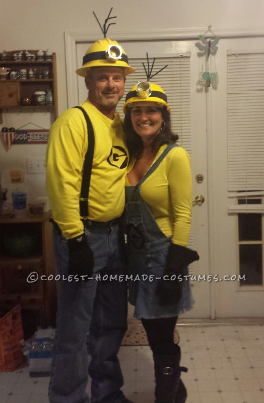 Mellow Yellow Adult Minion Couples CostumeMinions Adult Costume