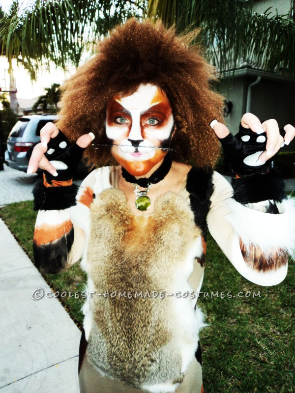 Cool Homemade Cat Costume - 1