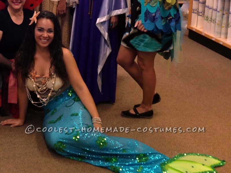 Realistic Homemade Mermaid Costume