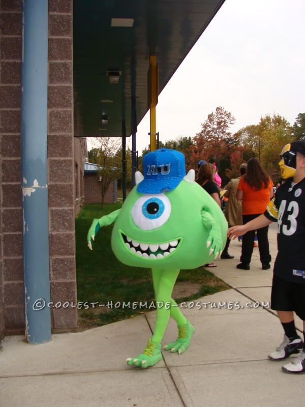 Monsters Inc Mike Halloween Costumes