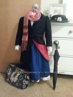 Mini Mary Poppins Halloween Costume