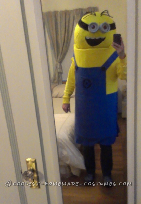 DIY Minion Halloween Costume