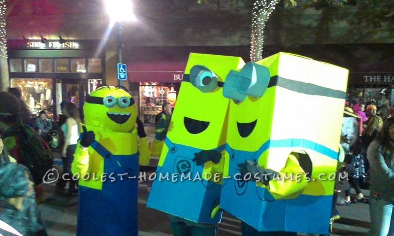 DIY Minion Halloween Costume - 1