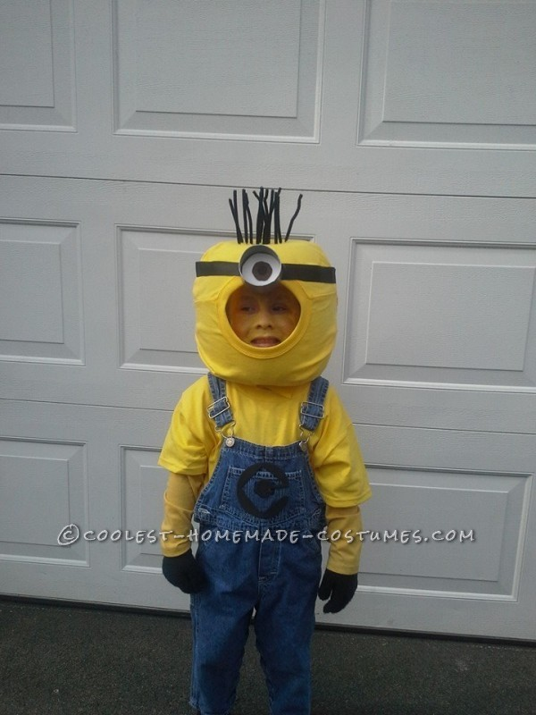 Minion for a 5 year old who doesn't sit still!