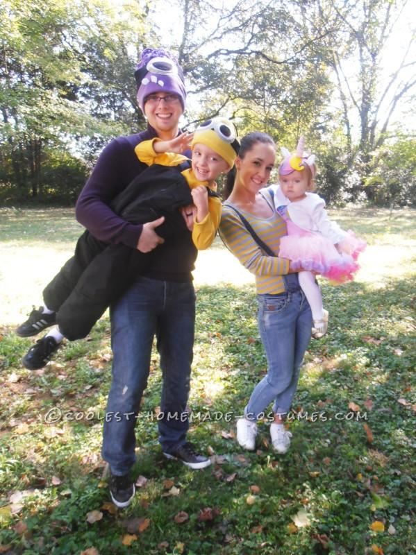 Minion Mania! A Full Family Homemade Costume Set - 1