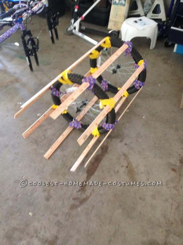 Yard Sticks and wheels