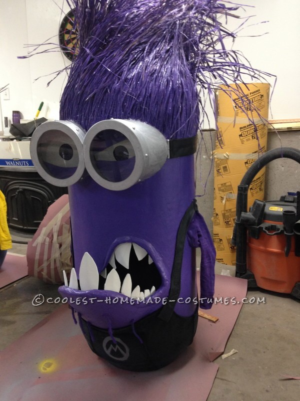 Finished Purple Minion