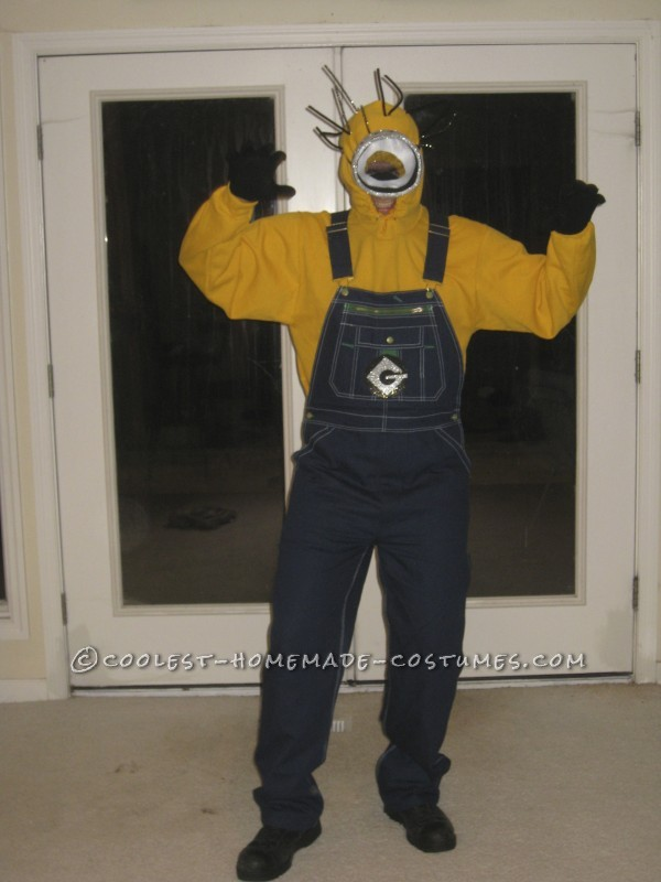 Funny Adult Minions Group Costume