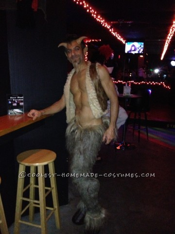 Mischievous DIY Satyr Costume