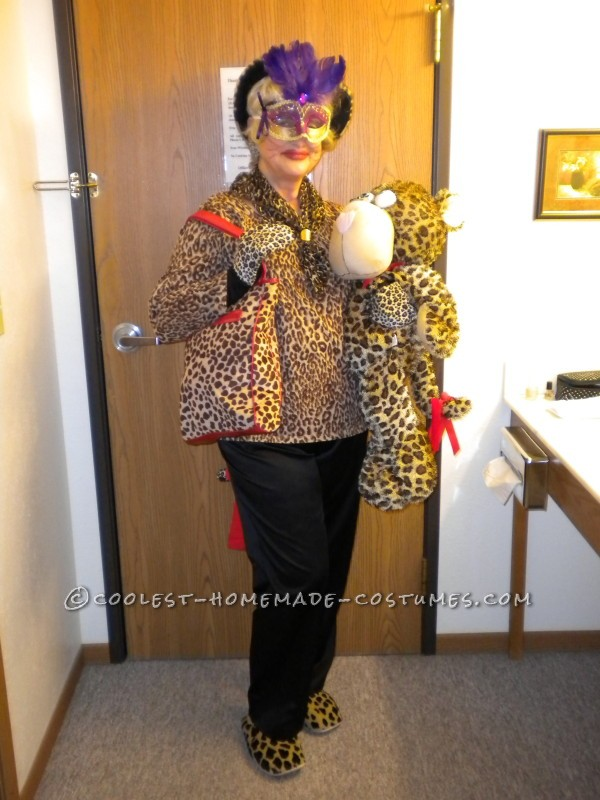 Miss Kitty and Her Date Costume