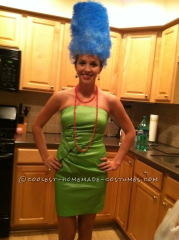 Easy Marge Simpson Costume