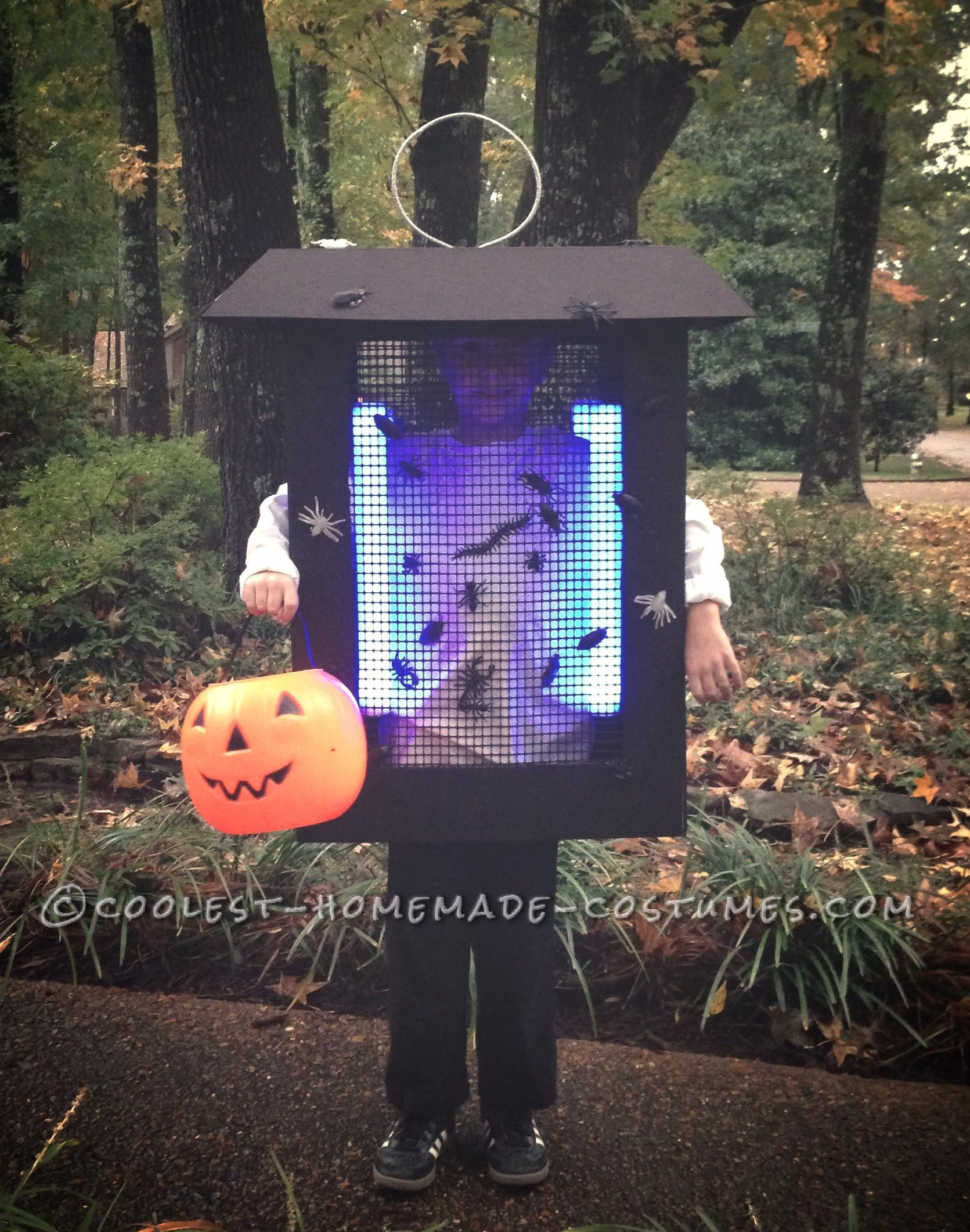 Mom, I Want To Be A Bug Zapper for Halloween!