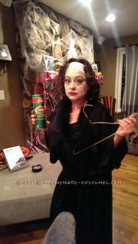 Mommie Dearest Costume (No Wire Hangers Ever!)