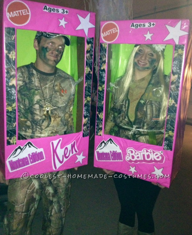 """Montana Edition"" Barbie and Ken Couple Costume"
