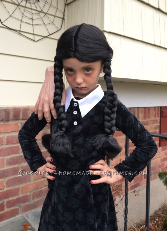 Wednesday Addams and Thing