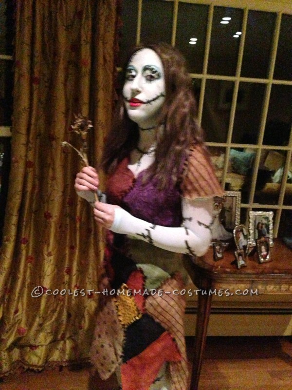 Authentic Handmade Sally Costume