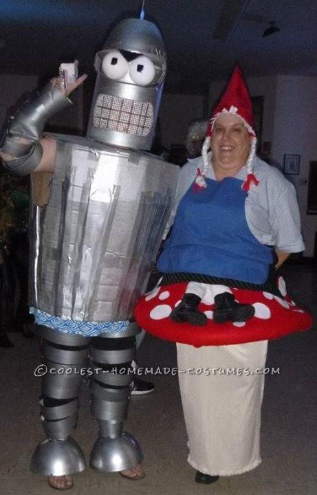 Original Homemade Bender Costume