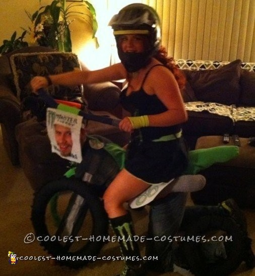 Awesome Motocross Couple Costume - 2