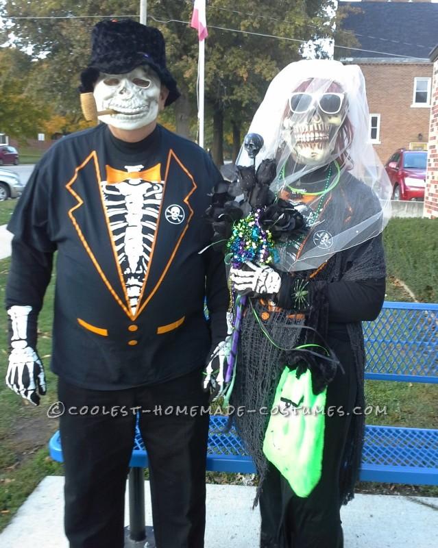 Mr and Mrs Bones, The Newlyweds!