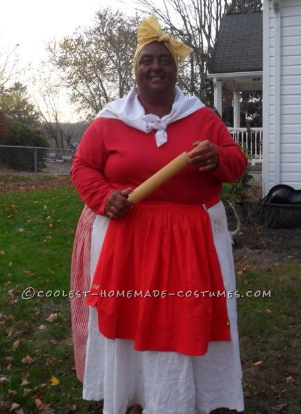 Cool Homemade Aunt Jemima Costume