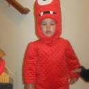 Cool Homemade Muno Toddler Costume from Yo Gabba Gabba