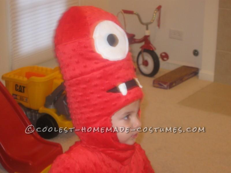 Cool Homemade Muno Toddler Costume from Yo Gabba Gabba - 5