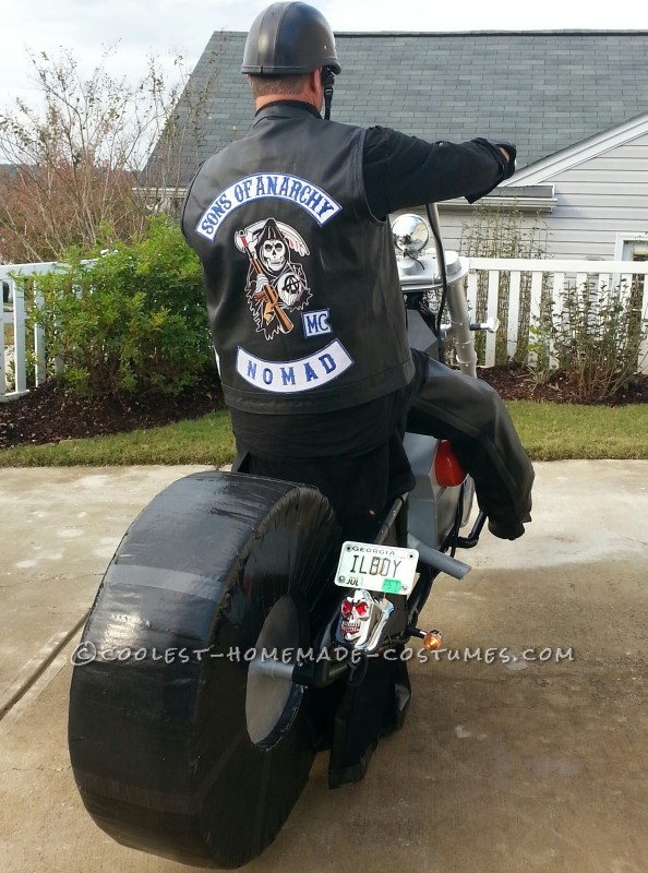 Awesome Sons of Anarchy Chopper Illusion Costume