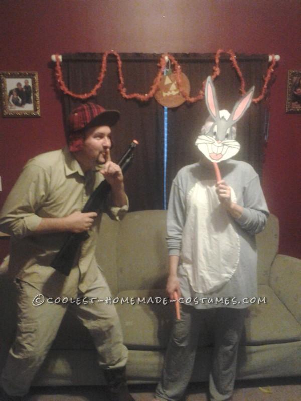 Shhhh!  I'm hunting wascally wabbit
