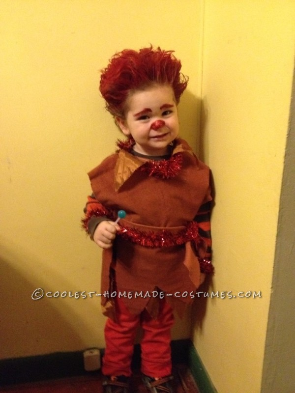 Cool Jack Frost and Heat Miser Child's Couple Costume - 1