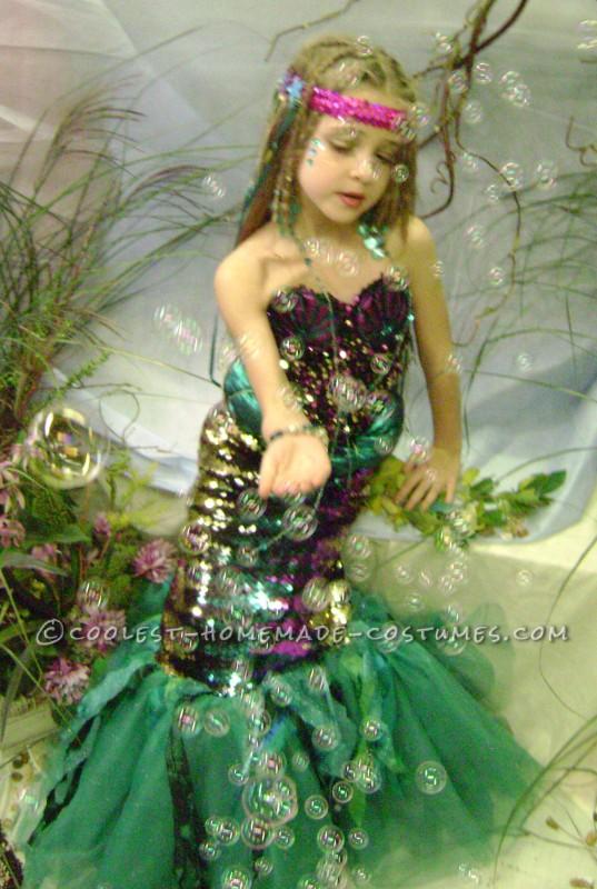 Under the Sea Little Mermaid Costume