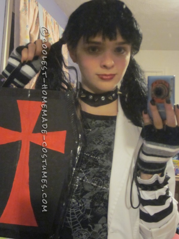 Goth Forensic Chic Costume: Abby Sciuto from NCIS - 5