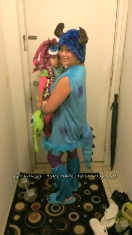 Coolest Celia, Boo and Sully Costumes Mom and Daughter