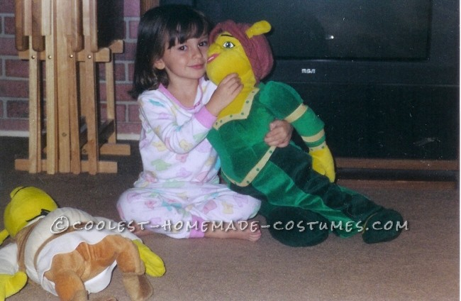 Little Ogre Fiona Costume for a Girl - 7