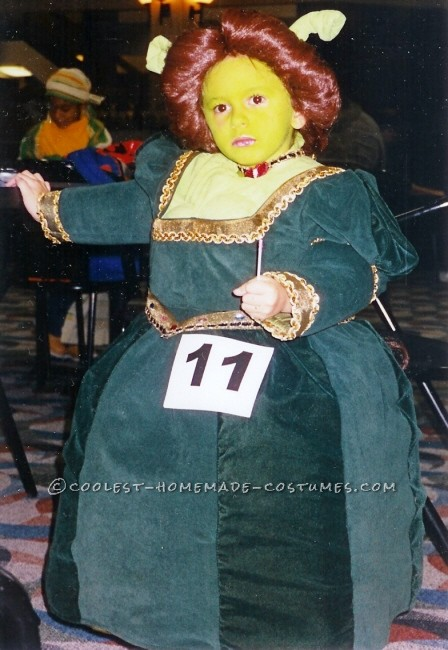Little Ogre Fiona Costume for a Girl - 3