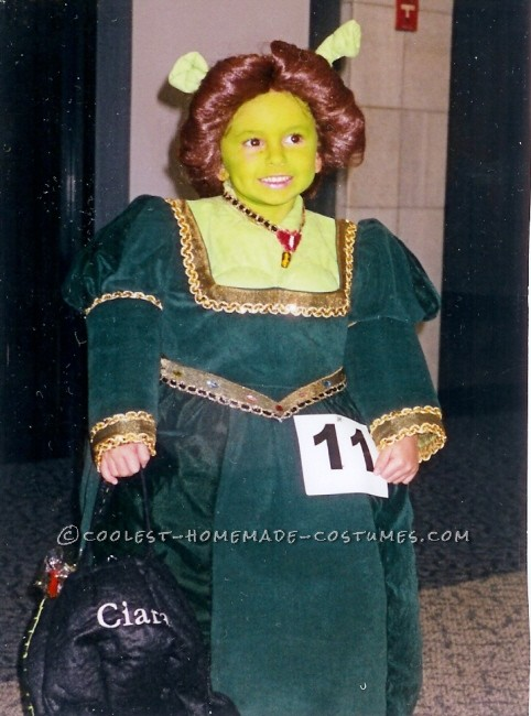 Little Ogre Fiona Costume for a Girl - 1