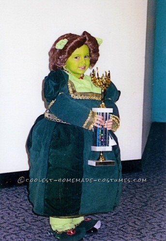 Little Ogre Fiona Costume for a Girl